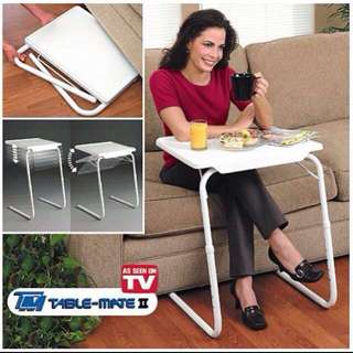 Potable Adjustable Folds Flat Table Mate Study Table
