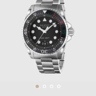Gucci 男裝手錶 man watches