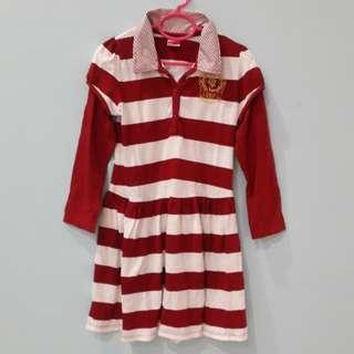 Red-White dress