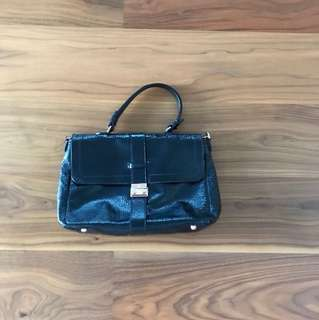 Mulberry Handbag (Navy Blue)