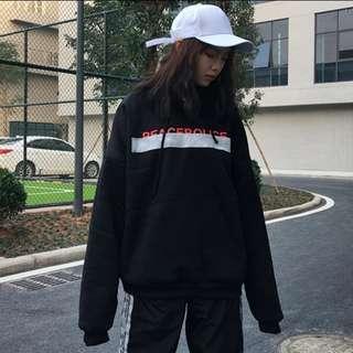 Peace police hoodie