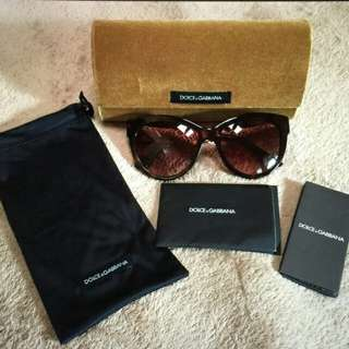 Dolce & Gabana sunglasses authentic
