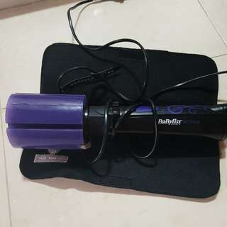 Babyliss Paris hair dryer and curler