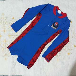 4T Spiderman Swimwear