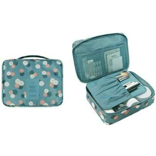 Flower Multi Pouch / Kosmetik Pouch Multi fungsi / korean travel organizer
