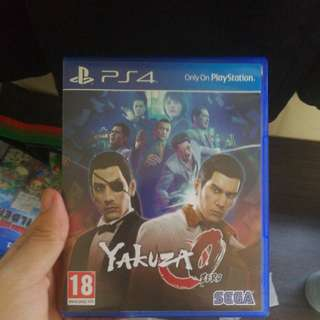 Yakuza 0 up for trade