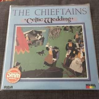 Audiophile Vinyl LP Record The Chieftians Celtic Wedding