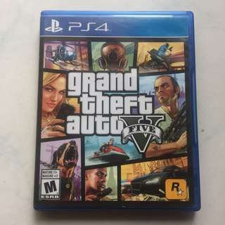 BD kaset PS4 GTA V / GTA 5