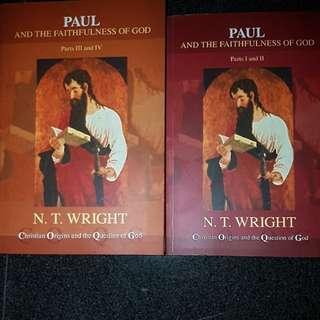 Paul NT Wright