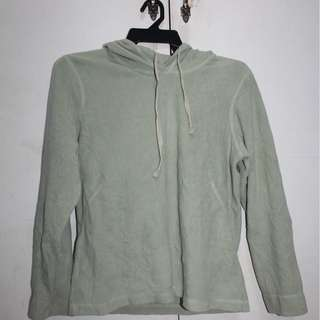 Light Green Hoodie Sweater