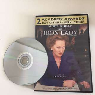 **free with $10+ purchase** Iron Lady DVD