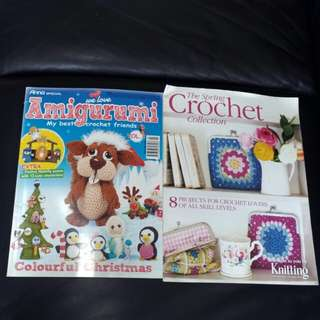 Amigurumi & The Spring Crochet Collection (2 magazines)
