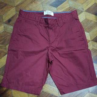 Penguin Maroon Shorts