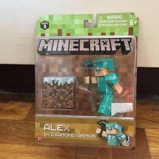 Brand New Auth Minecraft Alex in Diamond