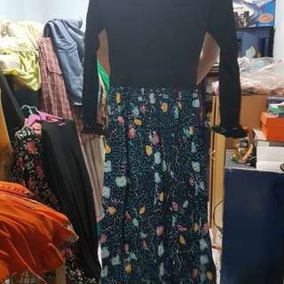 Dress batik madura