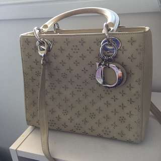 Limited EDT Authentic Lady Dior Handbag RRP 4700