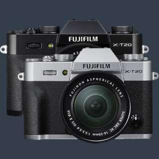 FUJIFLIM XT20 16-50mm