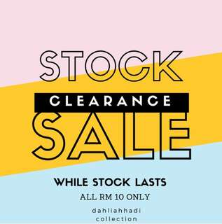 STOCK CLERANCE SALE FOR KIDS