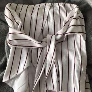 Sabo Skirt tube top
