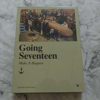 (Ready stock)SEVENTEEN - Going Seventeen (Make It Happen ver. with poster)