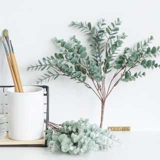 410. Home Decor Eucalyptus Artificial Plant