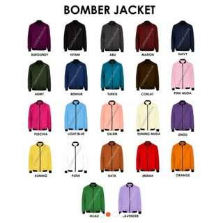 Jacket Boomber Unisex