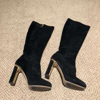 Salvatore Ferragamo High Boots