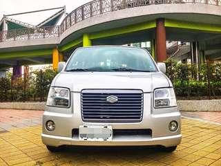 全額貸。2003年 Solio 頂級 轎車版 3500即可交車 可履約保證無重大事故泡水熔接車