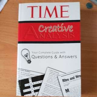 BN A creative analysis on past issues book
