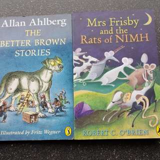 The Better Brown Stories, Mrs. Frisby and the Rsts of NIMH