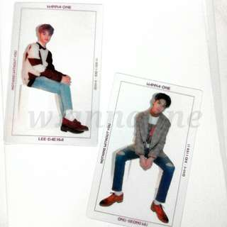 [WTT/WTS] OFFICIAL WANNA ONE PHOTOCARD