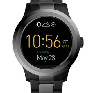 Fossil Q Founder Digital Display Two-Tone Stainless Steel Touchscreen