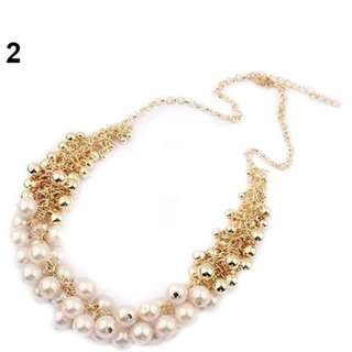 🆕 Pearl Statement Necklace 2