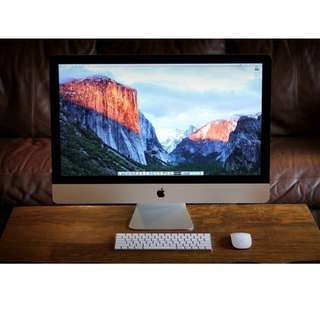 iMac 27-inch, 1TB HDD, 16GB RAM, Core i5 at just 850$ Excellent working condition