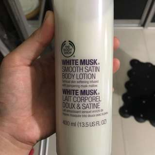 The Body Shop White Musk - Smooth Satin Body Lotion (400ml)