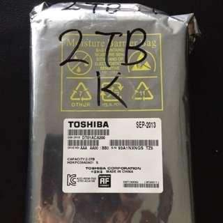 2TB Hard Disk Drive