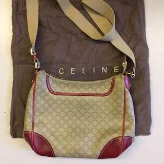 🈹Celine Vintage style leather shoulder bag