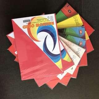 A4 paper project cards, copier paper