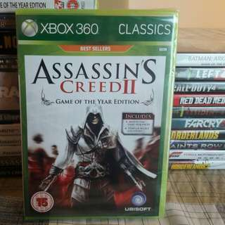 Assassins Creed II (Game of the Year Edition) Sealed