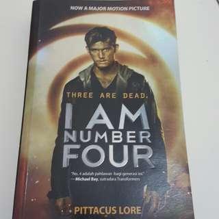 Novel I am Number Four