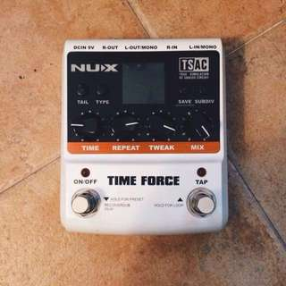 Nux Time Force multi-delay unit