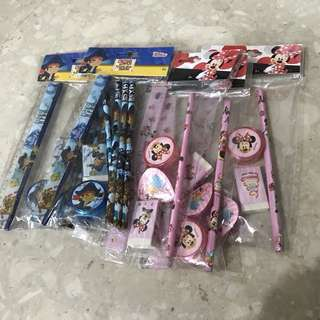 Stationery Set - captain Jake and Minnie