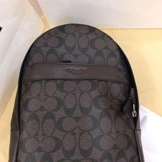 Authentic Coach men Shoulder Bag sling bag crossbody bag