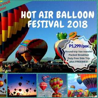Hot Air Ballon Festival 2018