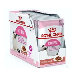 Royal Canin Kitten Wet Food Gravy Pouch