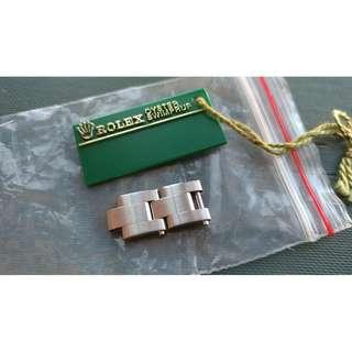 勞力士 Rolex 實心 鋼 錶帶 watch band 10mm