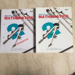 Sec 2 Express Maths Textbook and Workbook