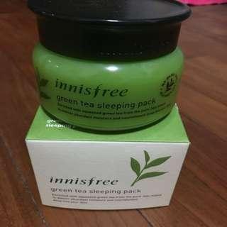 Innisfree Green Tea Sleeping Mask-80ml