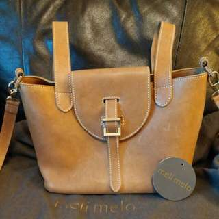 Meli melo leather bag