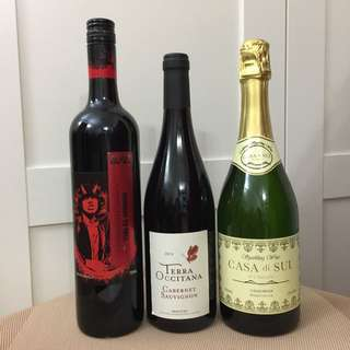 紅酒🍷白酒共三支